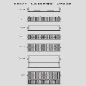 Buderus Heizkörper C-Plan 10/500/1100
